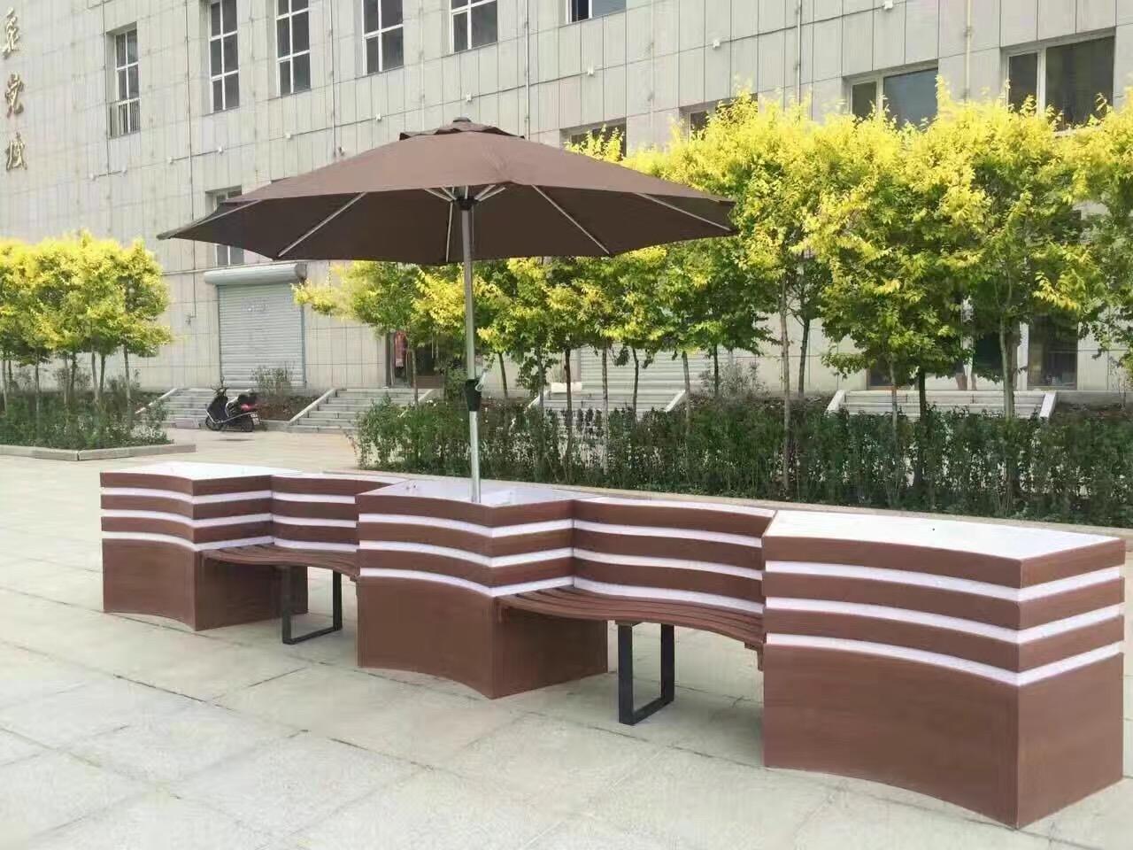 隔离带PVC花箱(S形座椅花箱)